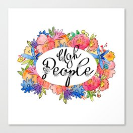 Ugh People Canvas Print
