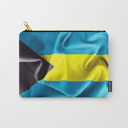 Bahamas Flag Carry-All Pouch
