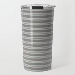 Benjamin Moore Cinder Dark Gray AF-705 and Color of the Year 2019 Metropolitan Stripes Travel Mug