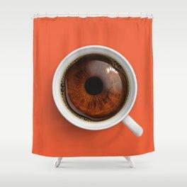 Coffee Eye Shower Curtain