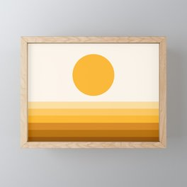 Sunseeker 17B Framed Mini Art Print