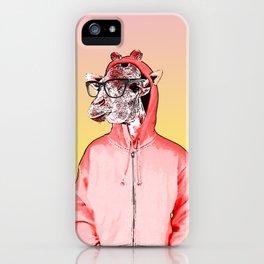 Saul the Hipster Giraffe iPhone Case