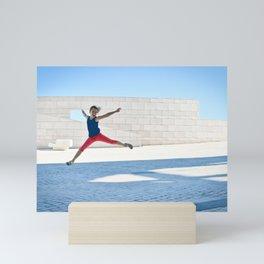 Jump Lisbon Mini Art Print