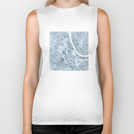Map Nashville Tennessee Blueprint City Map Biker Tank