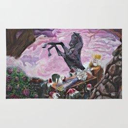Sleeping beauty Snow white Fairy Tales Rug
