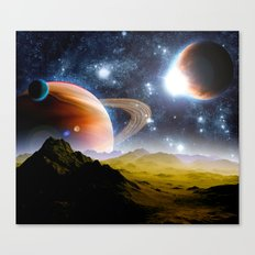 Multiplanetary Canvas Print