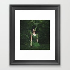 WHAT I AM  Framed Art Print