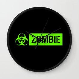 Zombie: Biohazard Wall Clock