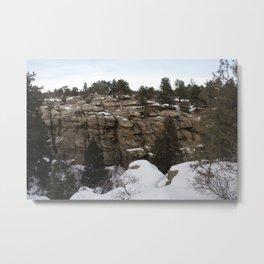 Castlewood Canyon I Metal Print
