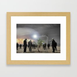 Enjoy it while you can.... Framed Art Print