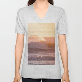 Ocean sunset Unisex V-Neck