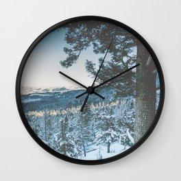 Lamar Valley Wall Clock