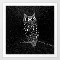 cool bird Art Print