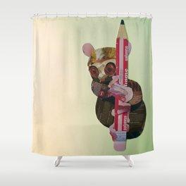 Siau Island tarsier (Tarsius tumpara) Shower Curtain