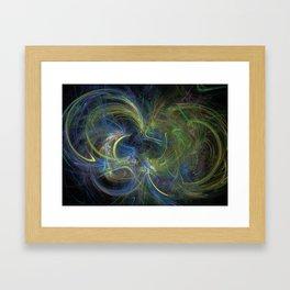 Flying A Kite Framed Art Print