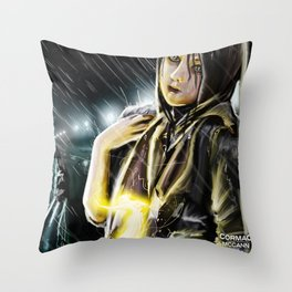 Faerie Keeper Throw Pillow