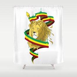Reague Lion Shower Curtain