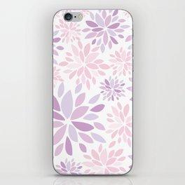Nature's Healing Mandala Pastel Pink iPhone Skin