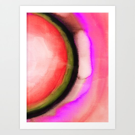 Circle 2 Art Print