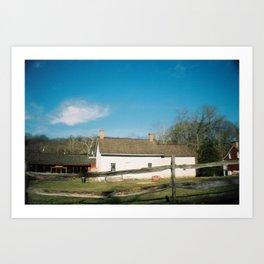 Historic Richmond Town, 2012 Art Print