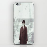 1984 iPhone & iPod Skins featuring |1984| by lifeinaquietplace