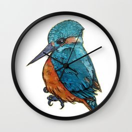 L'il Lard Butt - The Kingfisher Wall Clock
