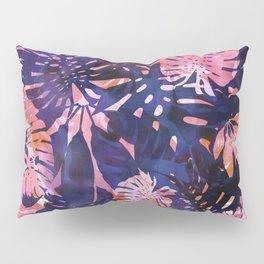 Motuu Tropical Pink & Purple Pillow Sham
