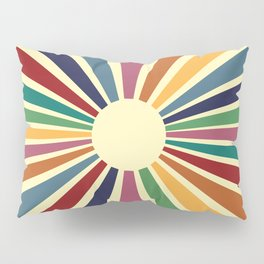 Sun Retro Art II Pillow Sham