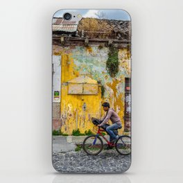 Antigua by bicycle iPhone Skin