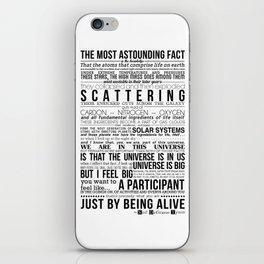 Neil DeGrasse Tyson Science Manifesto iPhone Skin