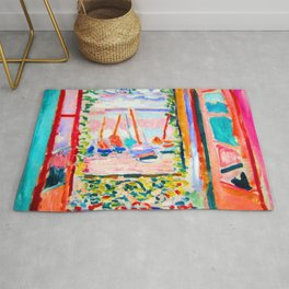 Henri Matisse Open Window Rug