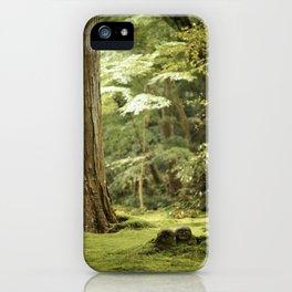 Ohara Jizo, Kyoto iPhone Case