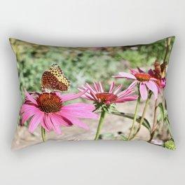 Butterfly Row Rectangular Pillow