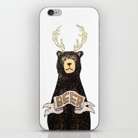 beer iPhone & iPod Skins featuring Beer by Cale LeRoy