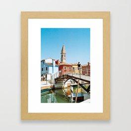burano 1 Framed Art Print