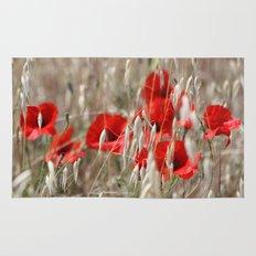Poppies  - JUSTART © Rug