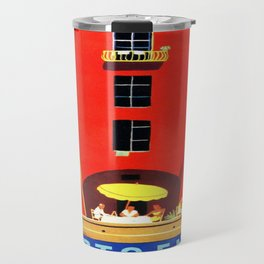 Vintage poster - Portofino Travel Mug
