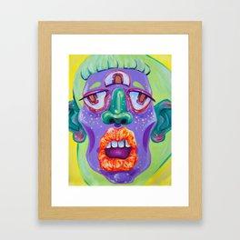 LadyHead II Framed Art Print