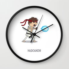Hadouken! Wall Clock