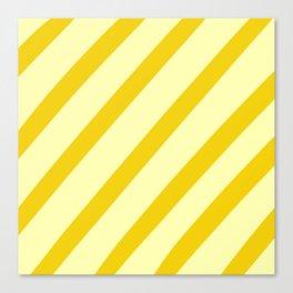 Sunny Stripes Canvas Print