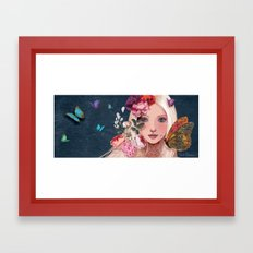 while i was dreaming.... Framed Art Print