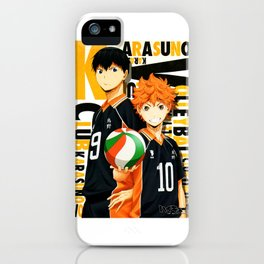 Karasuno iPhone Case