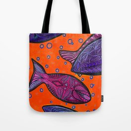 FISH3 Tote Bag
