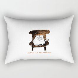 Centre of the Universe (Orange)  Rectangular Pillow
