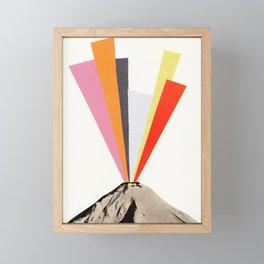 Eruption Framed Mini Art Print