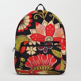 Blooms Butterflies and Ladybugs Backpack