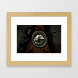 The Eye that Never Closes Framed Art Print