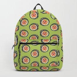 Kawaii Salmon Sushi Backpack