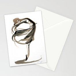Ballet Dance Drawing Stationery Cards