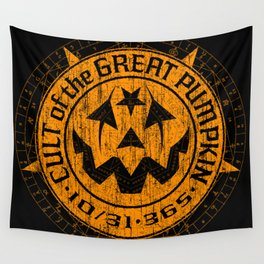 Cult of the Great Pumpkin: Alchemy Logo Wall Tapestry